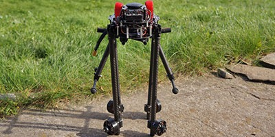 Quad Light Pro - X4 copter with foldable arms