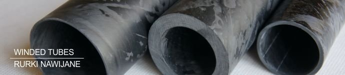 Carbon winded tubes