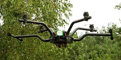Flexirotor Artemis in the air